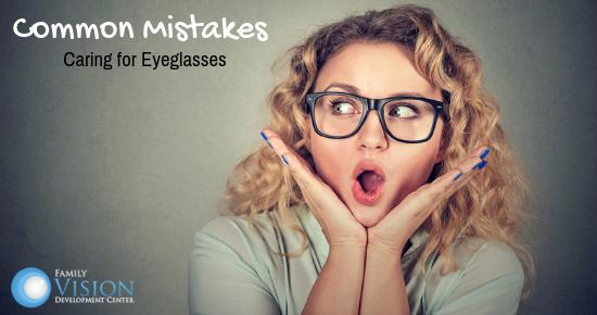 How to Properly Care For Eyeglasses to Make Them Last