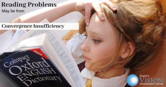 Convergence Insufficiency May Lead to Trouble in School