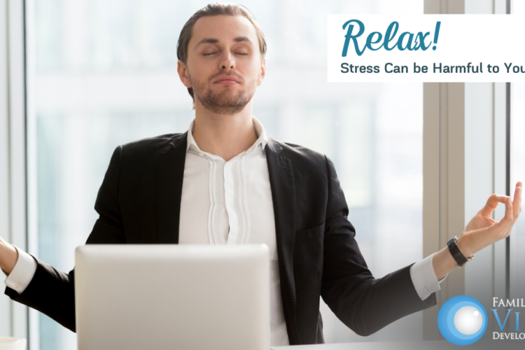stress affects vision