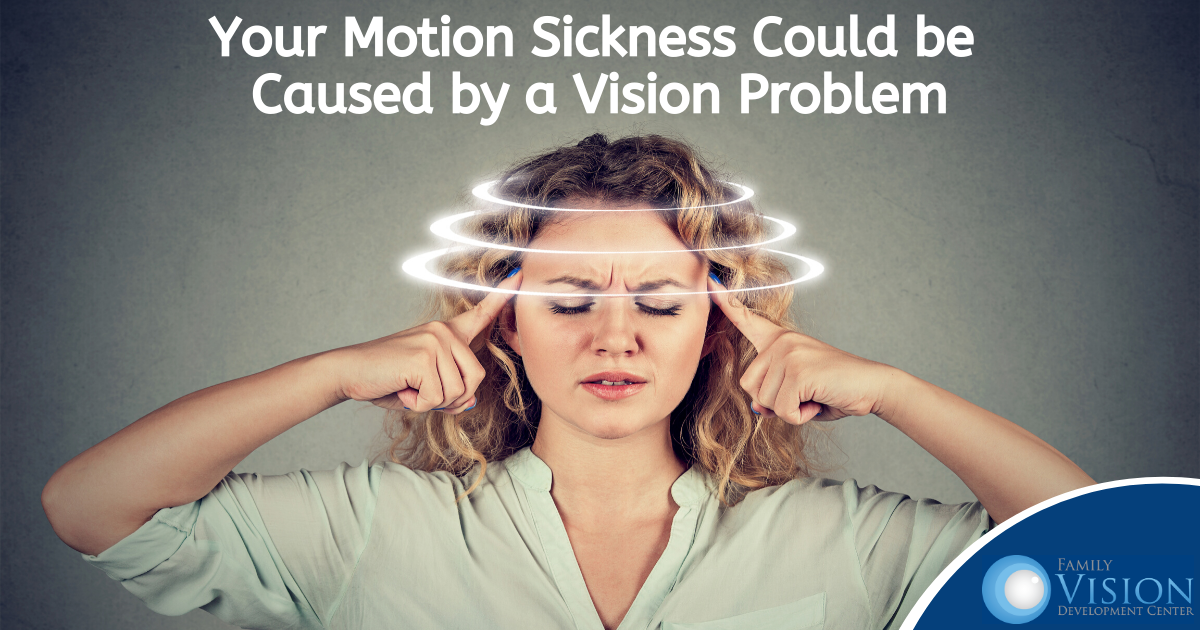 Motion Sickness Could be Due to a Vision Problem
