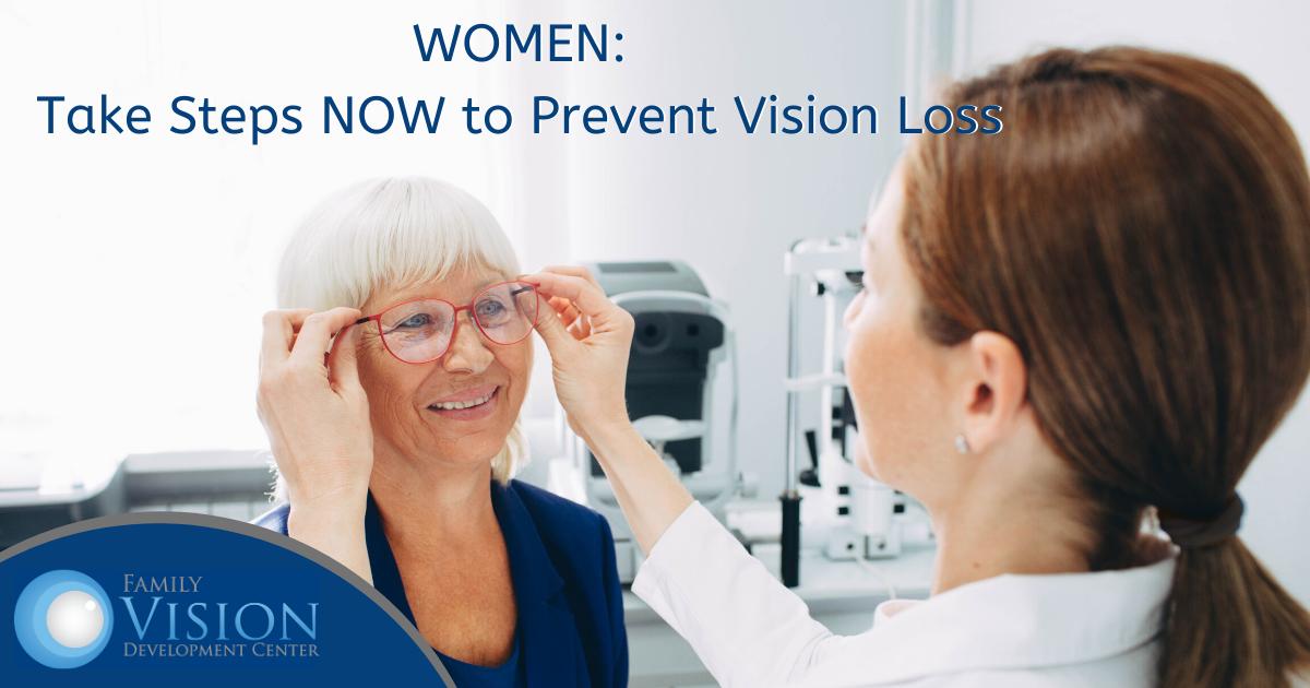 women vision loss