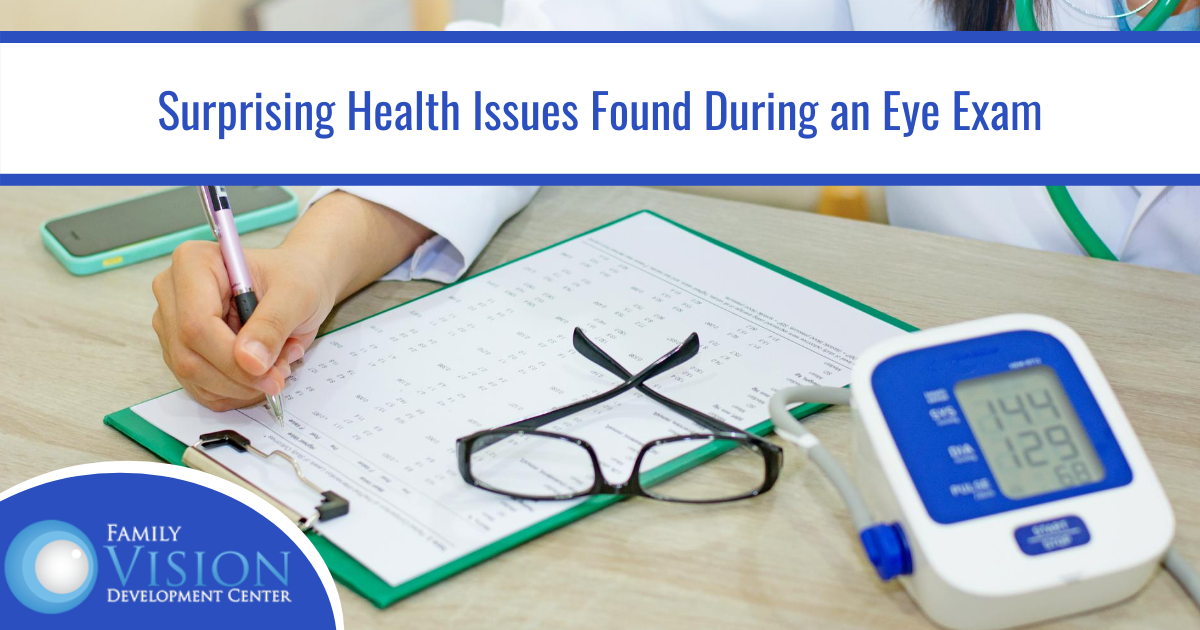 5 Hidden Health Issues that an Eye Exam can Uncover