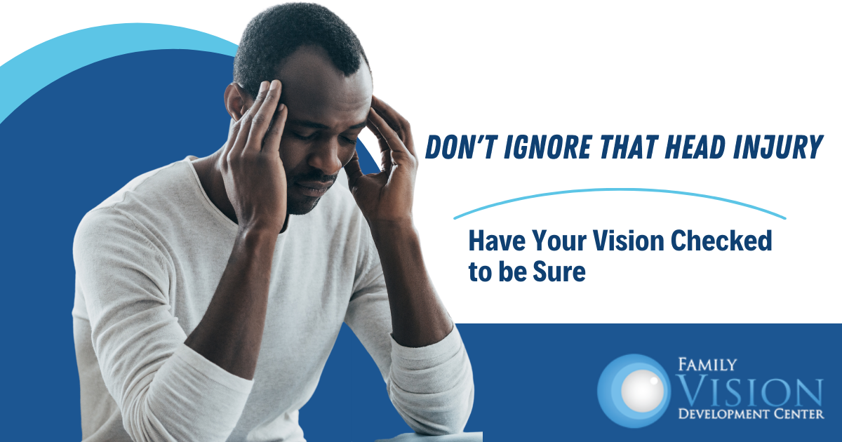A Head Injury Can Leave Lasting Vision Problems: Watch for These 5 Symptoms